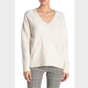 $245 NWT Reiss Soph Relaxed V-Neck Sweater